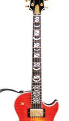 """Gitarren Style-Sticker für das Griffbrett - """"Bad Bats"""""""