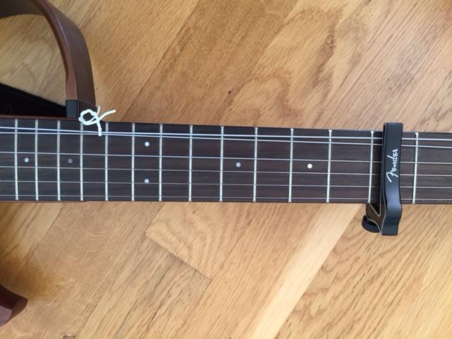 Gitarre in Ukulele verwandeln