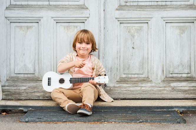 Gitarrenakkorde auf der Ukulele