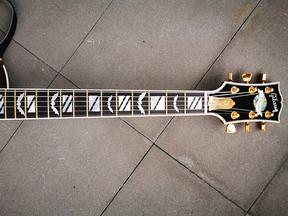 """Griffbrett-Sticker """"Bad Bats"""" für die Verzierung der Gitarre / E-Gitarre"""