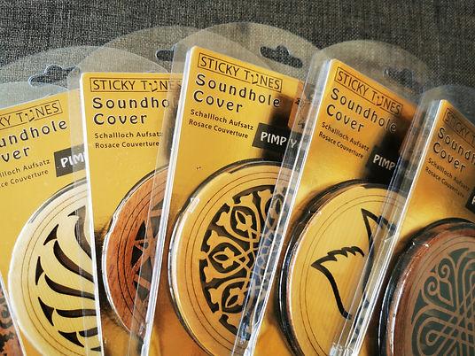 Sticky Tunes Schallloch Aufsatz für Gitarre (10mm Schallloch)