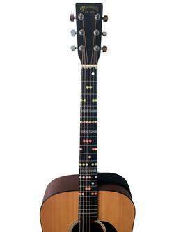 Pentatonik Gitarren Sticker