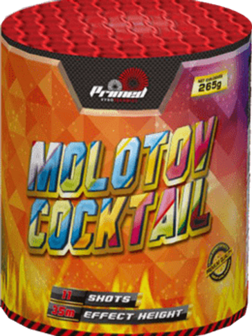 6 x Molotov Cocktail