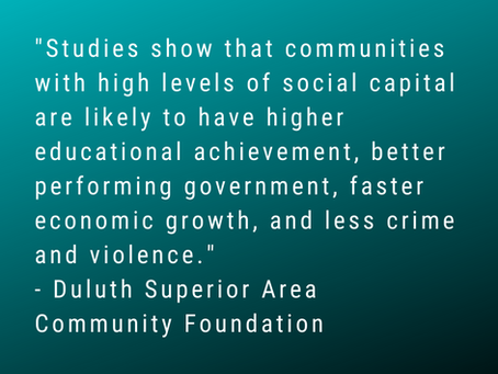 Social Capital and the Duluth Community School Collaborative