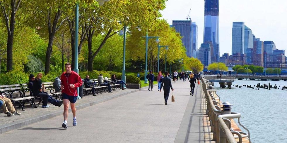 Group Run - Hudson River