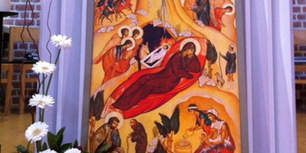Messe de la veille de Noël en direct sur You tube