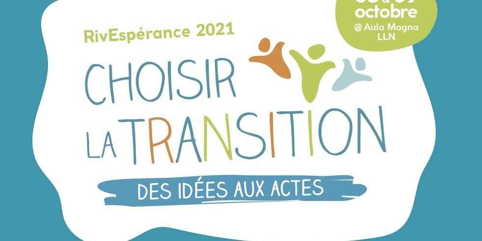 Rivespérance - Choisir la transition, des idées aux actes