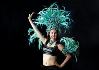 Top by D. Webb Designs\ Headress by Brazil Carnival Shop