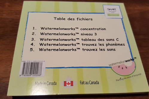 les fichiers SMART II de Watermelonworks SMART II files