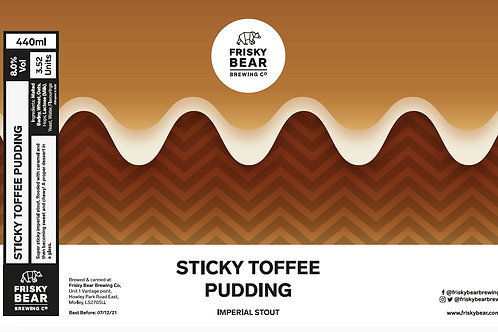 Sticky Toffee Pudding Imperial Stout