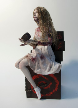 Ева. Персонаж из хорор-квеста