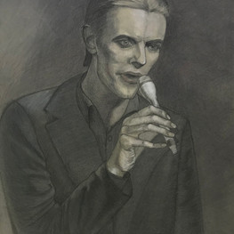Портрет Дэвида Боуи