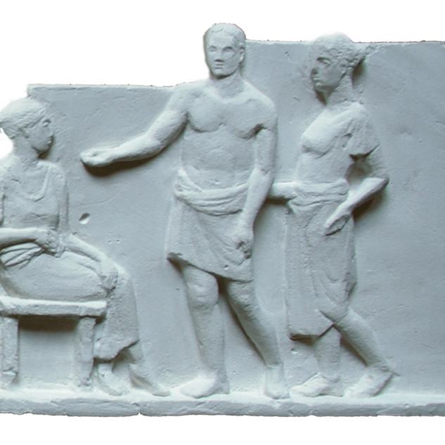 Греческие мотивы. Рельеф
