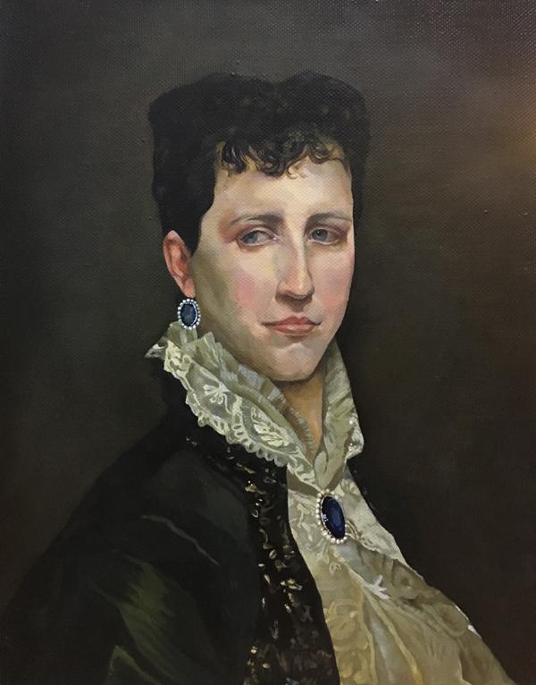 Адольф Бугро, портрет Элизабет Джейн Гар