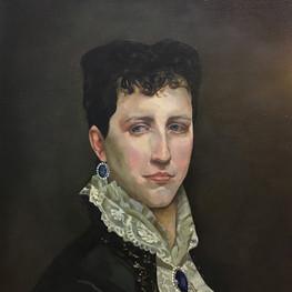 Копия портрета кисти Адольфа Бугро, портрет Элизабет Джейн Гар