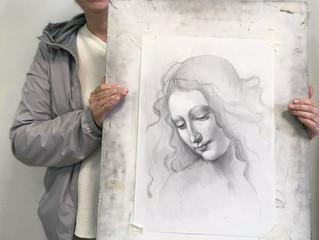 Первые портреты в исполнении Натальи