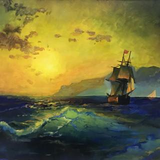 Копия картины И. К. Айвазовского