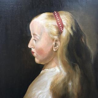 Копия картины Яна Ливенса