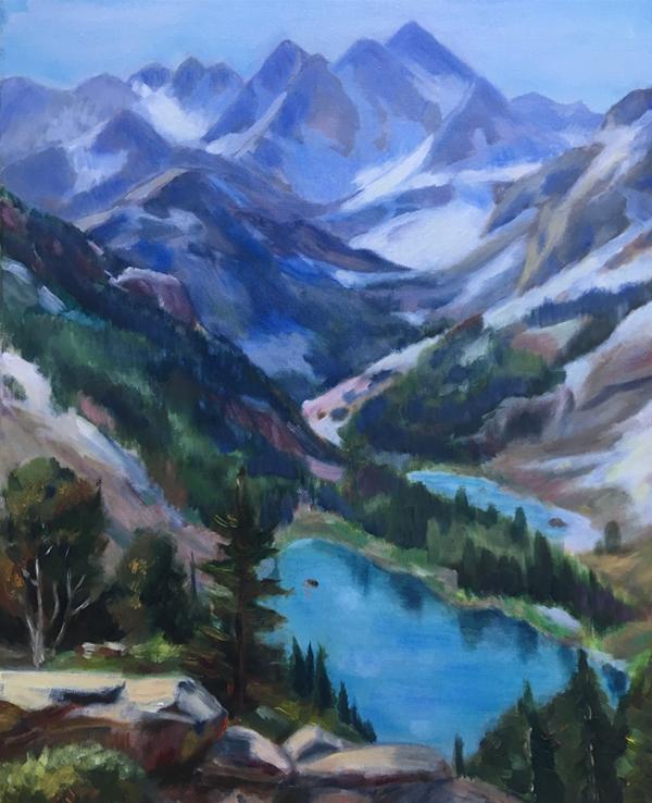 Горный пейзаж Клайда Аспевига