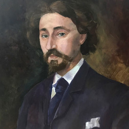 Копия портрета Ильи Репина кисти К. Н. Кузнецова