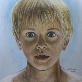 Портрет ребёнка. Неожиданность
