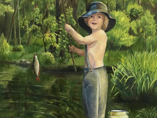 Новая картина Ольги Рябовой.