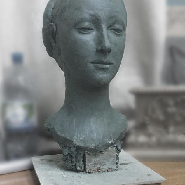 Копия бюста Марии Сфорца скульптора Фран