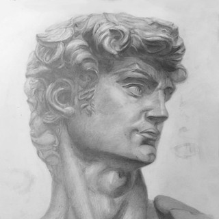 Рисунок головы Давида