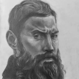 Портрет мужчины по фотографии