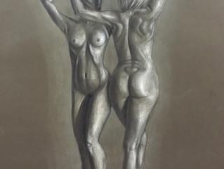 Красота обнажённого женского тела