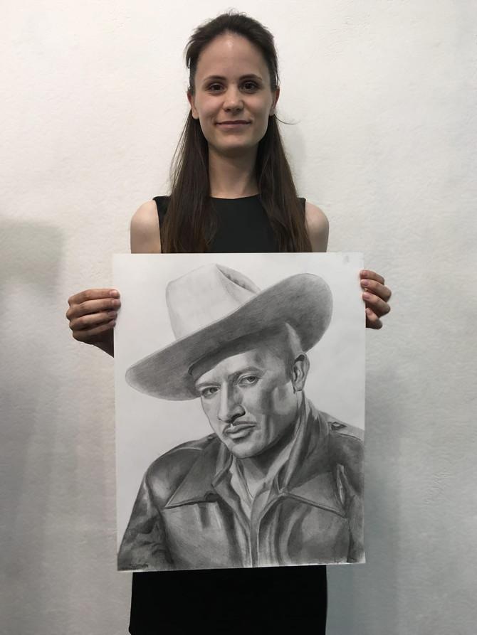 Портрет известного мексиканского актёра Педро Инфанте.