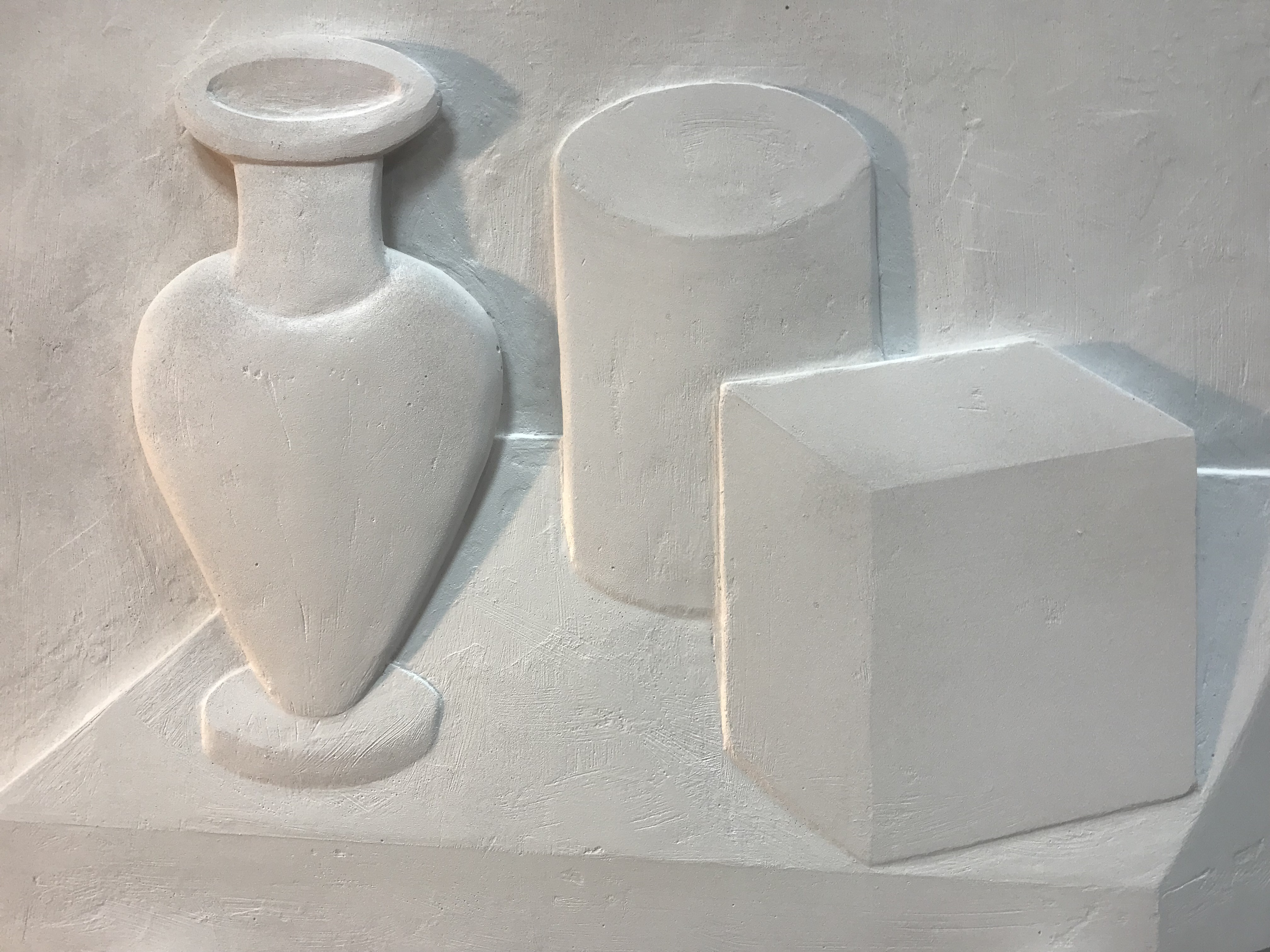Натюрморт из геометрических фигур