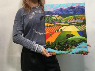 Копия картины американского художника Джина Брауна.