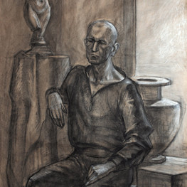 Портрет мужчины у окна