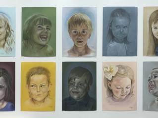 Чувства, эмоции и настроение,  воплощенные в портретах детей