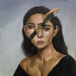 Копия портрета кисти современного художн