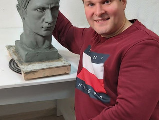 Копия римского портрета. Голова Германика.