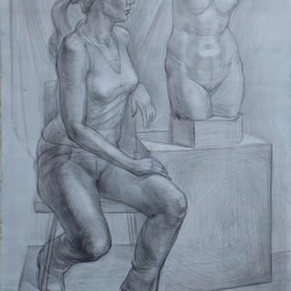Портрет душки с торсом Афродиты