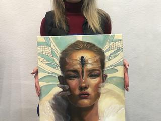 Копия картины художника Айкута Айдогду