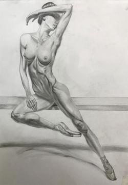 Обнажённая танцовщица