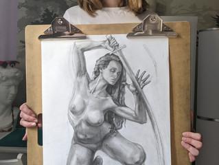 Девушка с саблей.