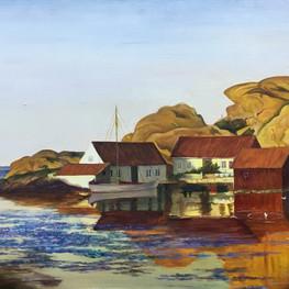 Копия картины художника Амалдуса Кларина Нильсена