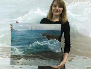 За окном морозный ноябрь, а у нас морская тема в StudioDoKo