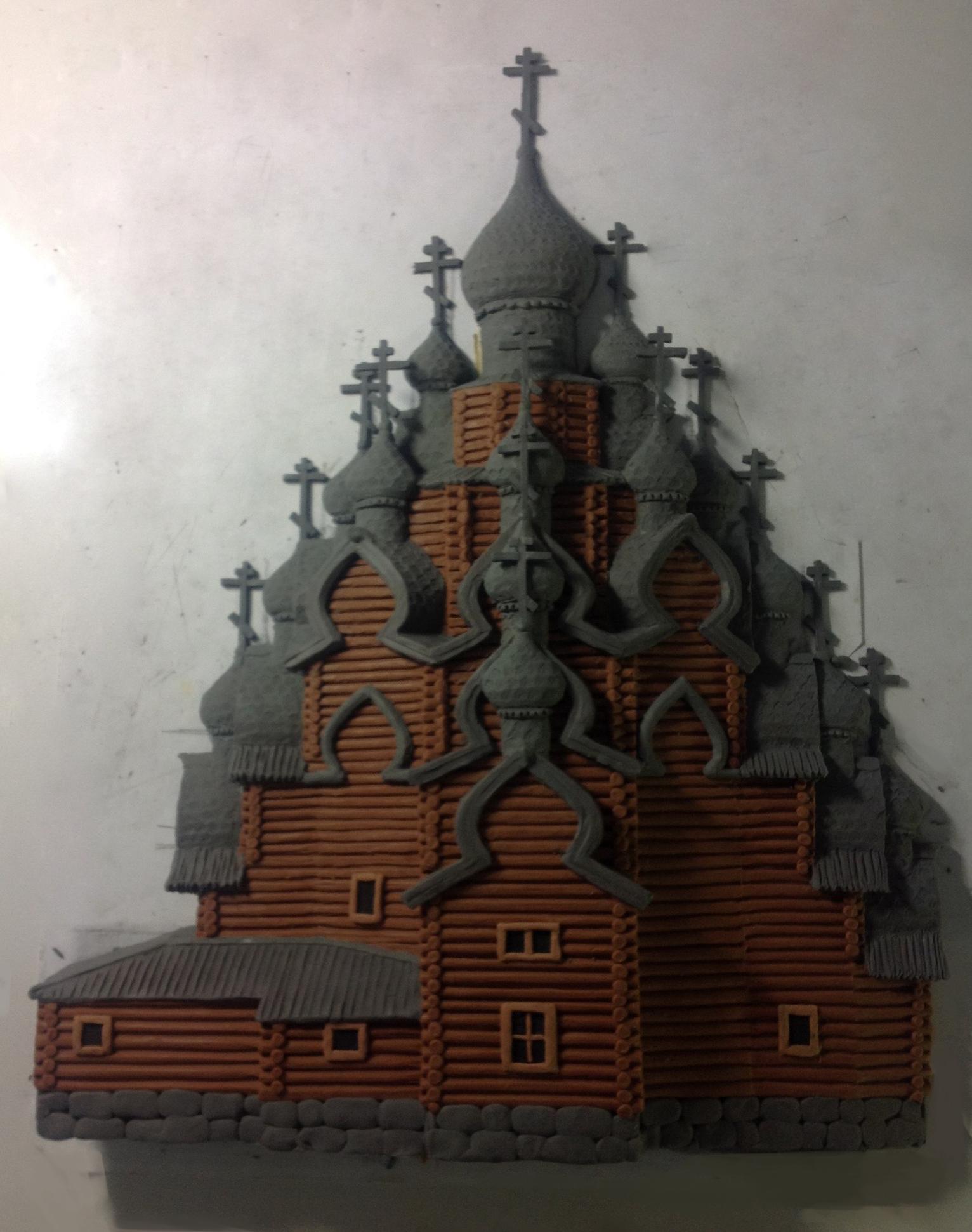 Храм в Кижах