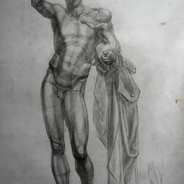Рисунок Гермеса с младенцем