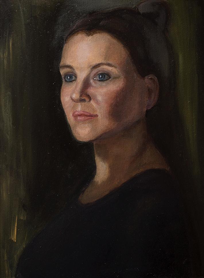 Копия женского портрета
