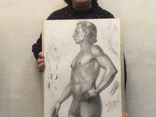 Мужской портрет по бёдра.