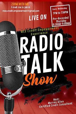 Copy of Radio Talk Show Flyer Template (