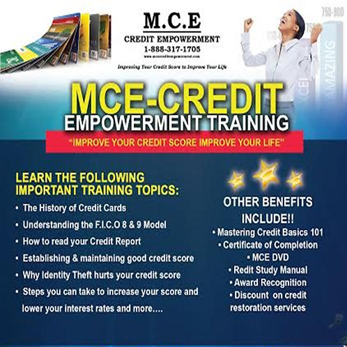 MCE Credit Empowerment Power Point CD