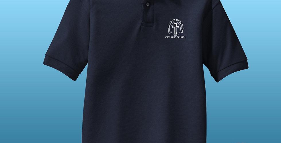 OMOS Awesome! Pique Mesh Uniform Polo